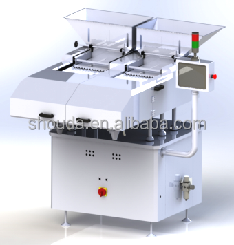 automatic capsules tablet counting and filling machine - tablet counter