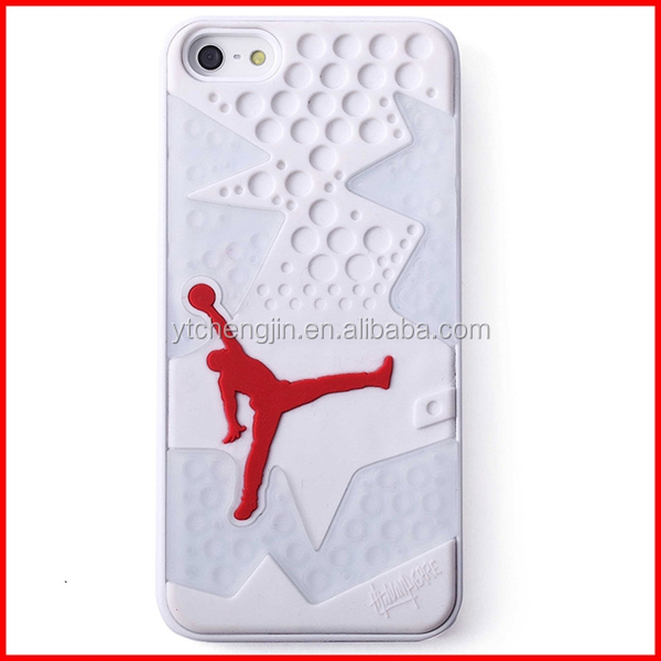 silicon air jordan phone cases in bulk
