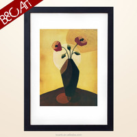 ZS(...135)ok A Mordern Abstract flower stretcher canvas art From Professional Artists