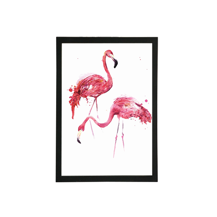 Best quality promotional frameless glass picture frame for promotion