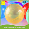 75mm plastic transparent toy ball for kids