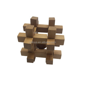 Large super 3d wooden brainteasers best interlocking puzzles for adult