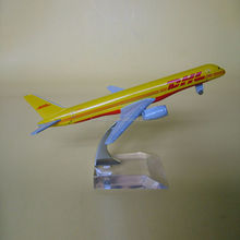 DHL metal plane model,craft airplane model,scale model airlines