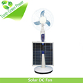 High Quality Solar DC Fan with 2 Pieces Battery Inside and with Solar panel