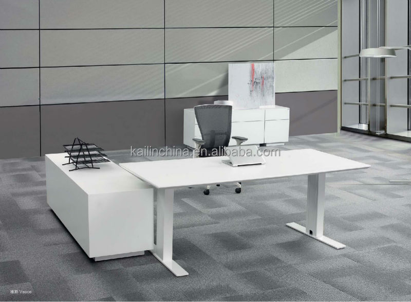 Veace modern design customized factory direct price office desk solid wood veneer executive table for manager