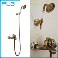 Factory Supply Single Handle Water Advanced Technology Handheld Antique Body Shower Set