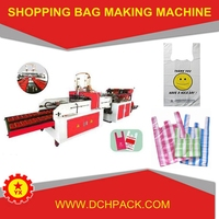BRN-400x2 Automatic polythene bag making machine