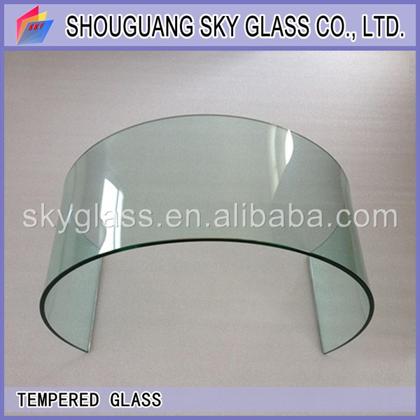 hot bent/curved/bend tempered glass