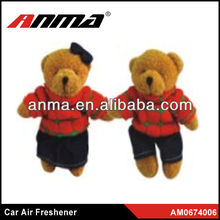 Nice anima cartoon shape car paper air freshener flower air fresheners