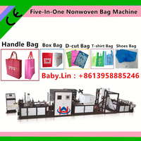 Baby.Lin Non Woven Shopping Bag Making sewing machine