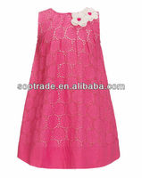 2015 casual new design hot sale A-line fashion summer girl dresses wholesale