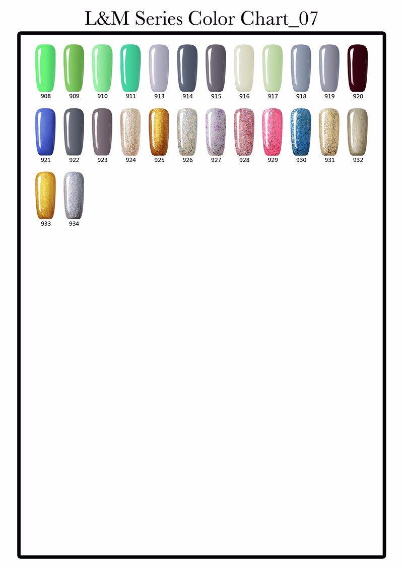 2017 Gel Nail Lvmay High Quality Nail UV polish