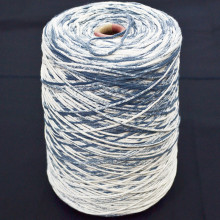 High quality dyeing of cotton fancy sprayed knitting yarn