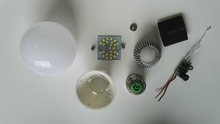 Manufacturer OEM led bulb led downlight spare parts SKD led light for assembling