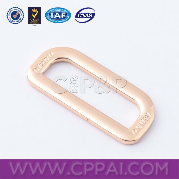 Gold Plating Custom Metal <strong>Buckles</strong> for Bags
