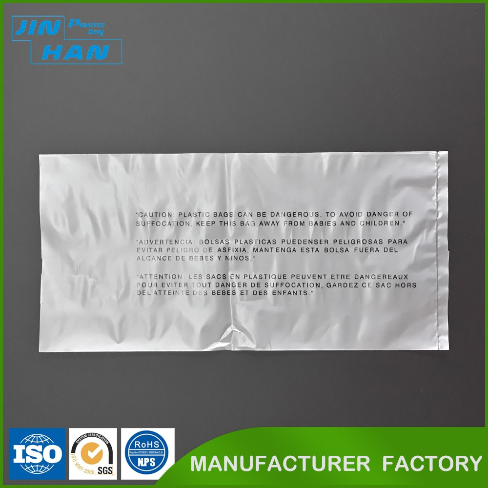nice printing 100% biodegradable plastic packaging bags for clothing