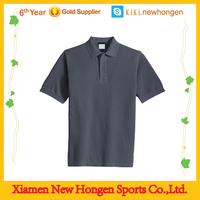 Cheap 100% Polyester Polo T Shirt for Work/factory wear company wear polo shirts