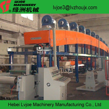 small investment machine for glass decoration PE COATING machine