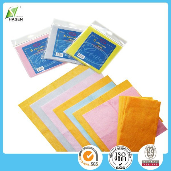 Popular non-stick oil bamboo cleaning antibacterial clean rag