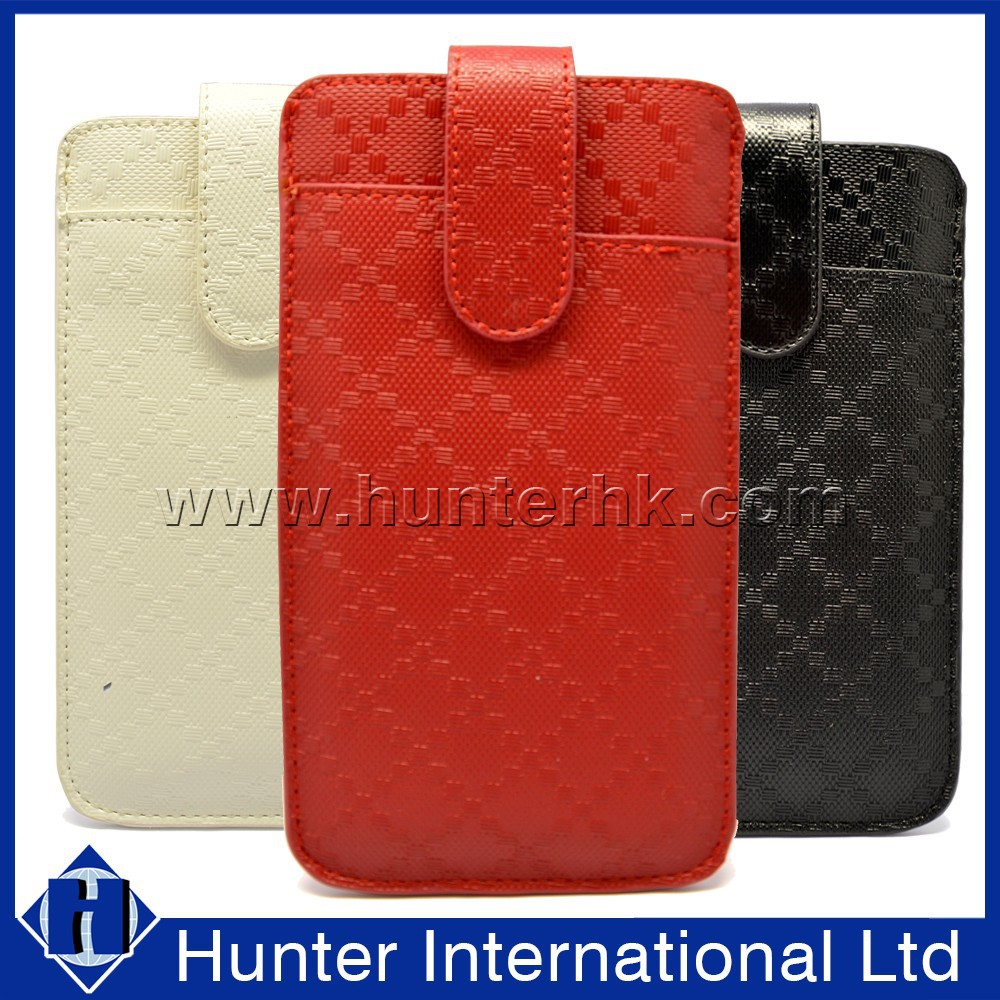 Suited 4.7 Inch Universal Leather Pouch Cover