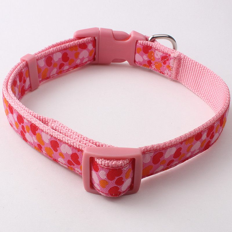 Wholesale cheap custom nylon rope dog collar