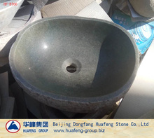 Hot sale Natural Granite Stone Garden Outdoor Water Washing basin with faucet