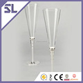 30th Wedding Anniversary Wedding Goblet Wine Glass Colored Stem Champagne Glass Supplier In China