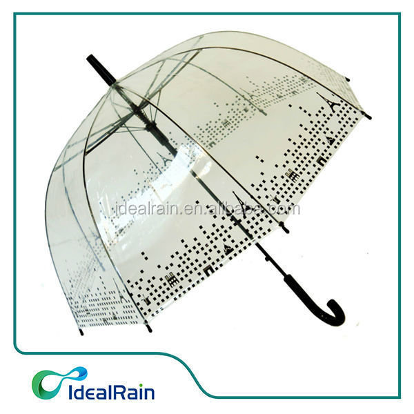 Full Print Birdcage Dome POE Umbrella