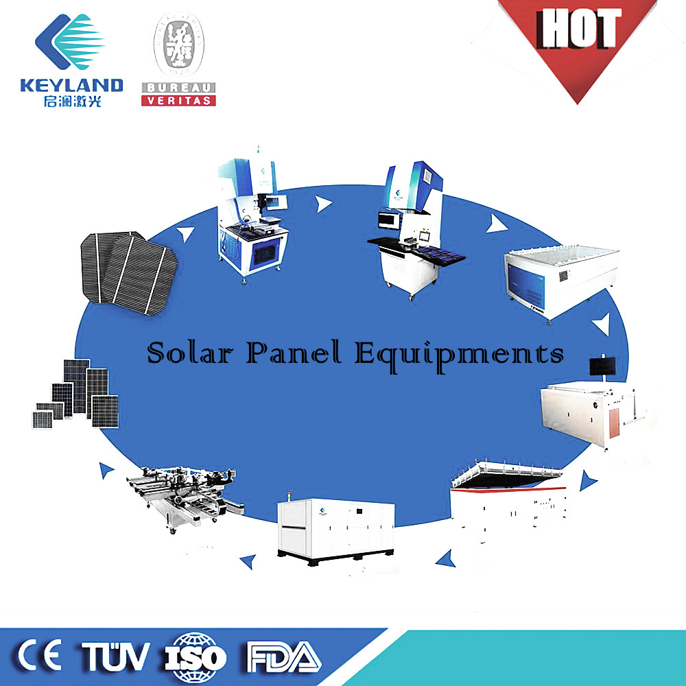 Keyland pv module assembly line solar machines to manufacture solar panels