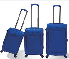 BEST SELLING PROMOTIONAL TRAVEL EVA FABRIC LUGGAGE WITH SOFT NYLON