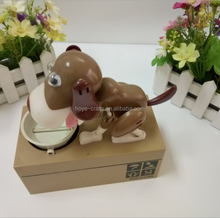 Greedy Dog Coin Money Bank Mechanical Money Box My Dog Piggy Bank