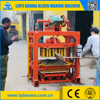 QT4-40 fly ash hollow block making machine price