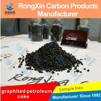 high carbon 99.9% graphitized calcined petroleum coke for steelmaking