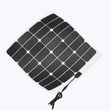 Light weight and wide use bendable portable solar panel 50w