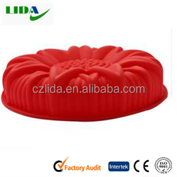 Factory wholesale fda standard mini round shaped silicone cake mold cupcake mold for sale KIT100