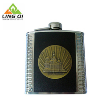 Guaranteed Quality Unique 6oz Stainless Steel Paster Hip Flask
