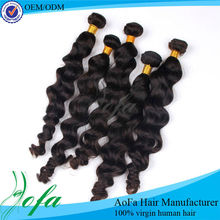 Full cuticle hair weaves for black women