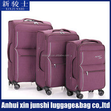 4 pcs cheap trolley stock travel suitcase