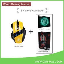 X7 Wired Computer Vertical Mouse with Mouse Pad for Wholesale