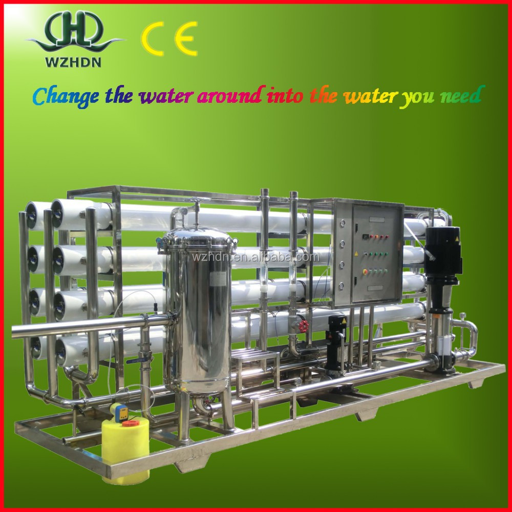 Good Quality Low cost RO system water treatment machine/salt water purifier/drinking water treatment plant