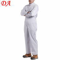Best quality workmans heated 100% cotton white coveralls