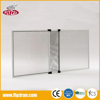 Competitive price adjustable aluminium sliding anti insect frame screen window