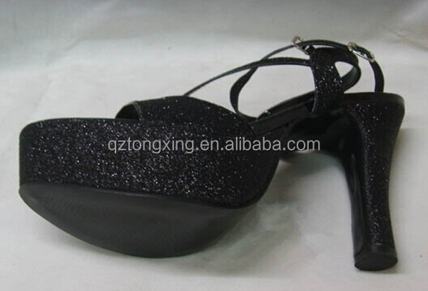 pvc sparkle sheet imitation leather as raw materials in making slippers shoes upper