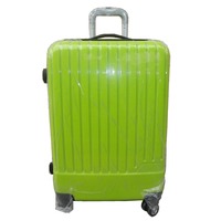 Eminent Trolley Travel Luggage with Bright Green