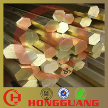 C23000 factory price free cutting H85 hexagonal brass bar
