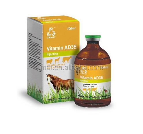 Hot sale Poultry vitamin ad3e injection feed grade veterinary medicine
