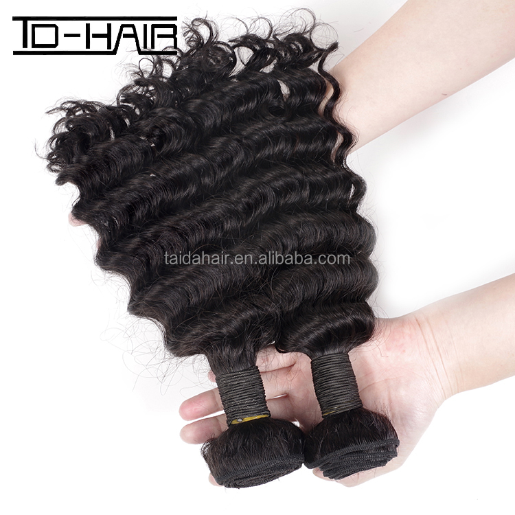 free shipping good quality best selling deep wave hair top quality colored human hair extension in dubai