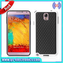 Hot sale double color soft tpu case for samsung galaxy note 3 n900 n9006 n9003