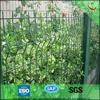 Decorative flower garden metal fencing