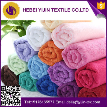 Cheap wholesale hand towel microfiber towels with custom size and logo